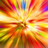 скорость гонки цветов иллюстрация штока
