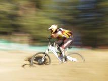 скорость гонщика Стоковая Фотография
