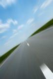 скорость дороги асфальта Стоковые Изображения