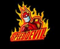 скорость дьявола Стоковые Изображения