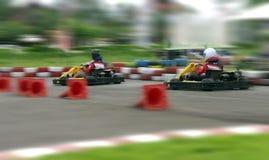 Скорость идет carting, абстрактная быстрая Стоковая Фотография RF