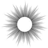 Скорость комика вектора выравнивает предпосылку Стоковые Фотографии RF