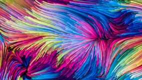 Скорость красочной краски Стоковые Изображения RF