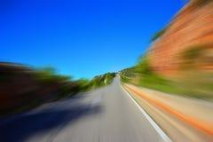 Скорость дороги Стоковое Изображение RF
