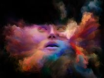 Скорость покрашенной мечты стоковое изображение rf
