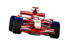 Скорость спортивной машины быстрая иллюстрация вектора