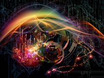 Скорость технологии Стоковое Изображение