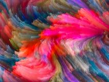 Скорость цвета фрактали Стоковая Фотография RF