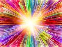 Скорость цветов Стоковые Изображения
