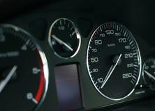 скорость шкалы Стоковые Фотографии RF