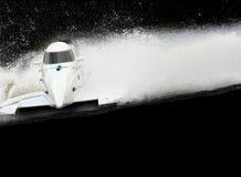 скорость шлюпки Стоковая Фотография