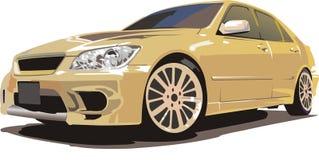 скорость японца автомобиля бесплатная иллюстрация