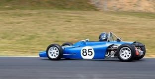 скорость hawke автомобиля историческая участвуя в гонке Стоковое Фото