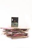 скоросшиватели диска трудные стоковые изображения rf