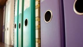 скоросшиватели новые Стоковые Фотографии RF