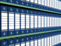 скоросшиватель архивохранилища стоковая фотография rf
