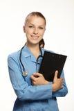 скоросшиватель доктора медицинский стоковая фотография rf