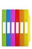 скоросшиватель цвета Стоковые Изображения