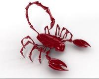 скорпион 3d Стоковое Изображение