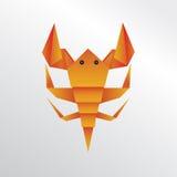 Скорпион Origami Стоковое Фото