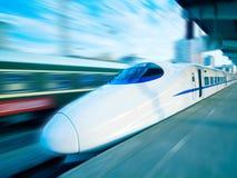 скорый поезд Стоковые Фотографии RF