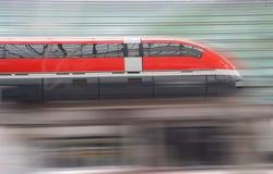 скорый поезд стоковое изображение rf