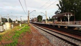Скорый поезд сток-видео