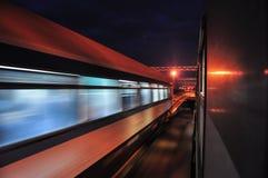 Скорый поезд Стоковые Изображения RF
