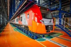 Скорый поезд Стоковая Фотография RF