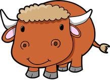 скотины быка cow вектор Стоковые Фото