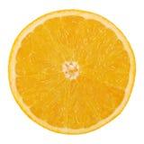 Скольжение апельсина Валенсии или апельсина пупка Стоковое Фото
