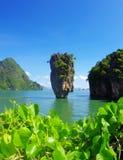 скрепите остров james стоковые фото