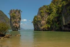 скрепленный остров james Таиланд стоковое фото rf