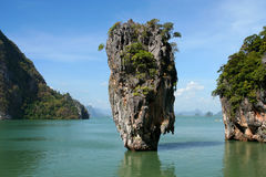 скрепленный остров james Стоковое фото RF