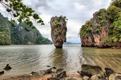 скрепленный остров james Стоковое Фото
