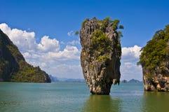скрепленный остров james Стоковое Изображение
