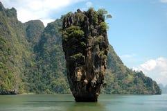 скрепленный остров james Стоковые Изображения