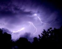 скрепляет болтами молнию Стоковая Фотография RF
