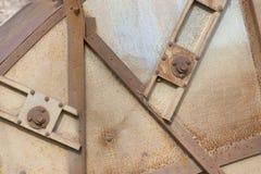 скрепляет болтами сталь Стоковые Фото
