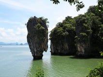 скрепленный остров james Таиланд Стоковые Изображения RF