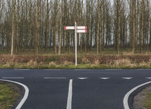 Скрещивание велосипеда Стоковое Изображение RF