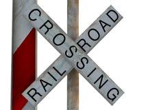 Скрещивание железной дороги Стоковые Изображения RF