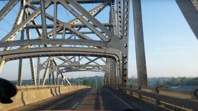 Скрещивание моста стоковое изображение
