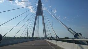 Скрещивание моста стоковые фотографии rf