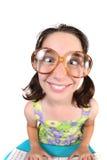 скрещивание ребенка eyes смешно она Стоковое Изображение RF