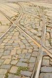 Скрещивание рельса Стоковая Фотография RF
