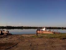 Скрещивание утра на Uvat Стоковая Фотография