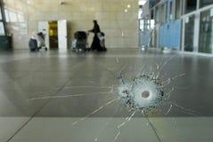 Скрещивание Erez - Израиль Стоковое Изображение