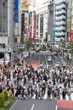 Скрещивание Hachiko, токио Стоковое фото RF