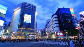Скрещивание Shibuya, токио, Япония Стоковое Фото